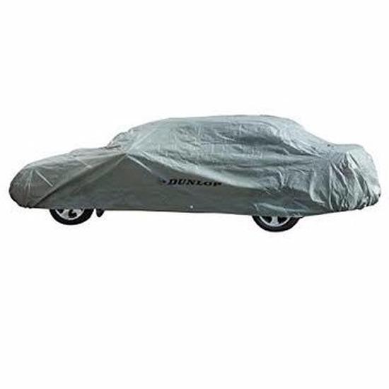 Dunlop auto beschermhoes 534 x 178 x 120 cm grijs