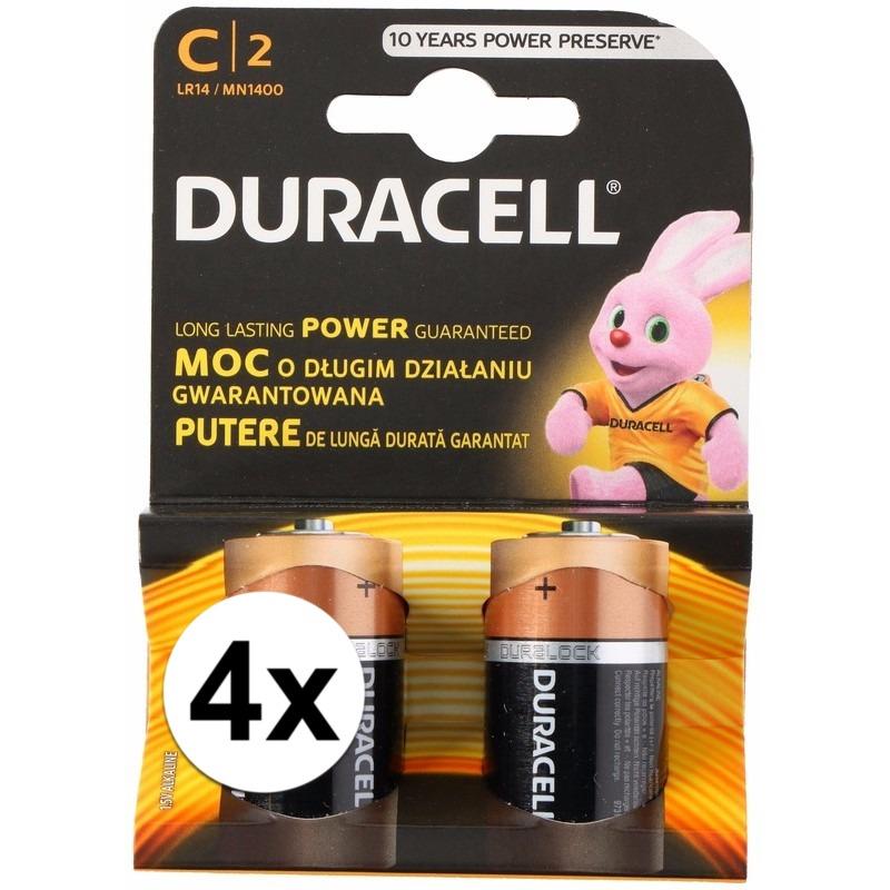 Duracell batterijen CR-LR14 8 stuks