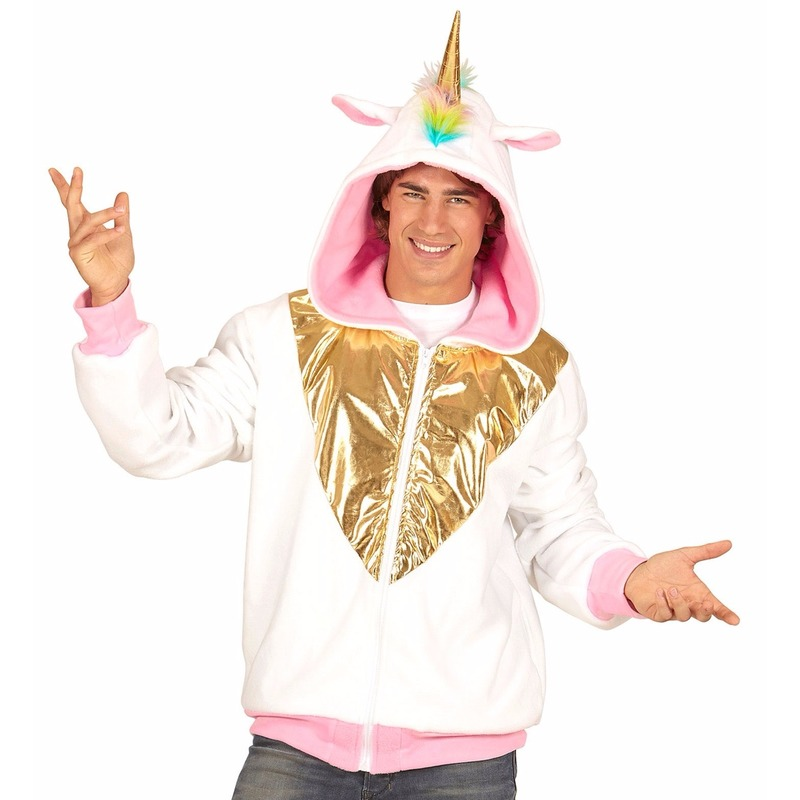Eenhoorn hoodie voor heren