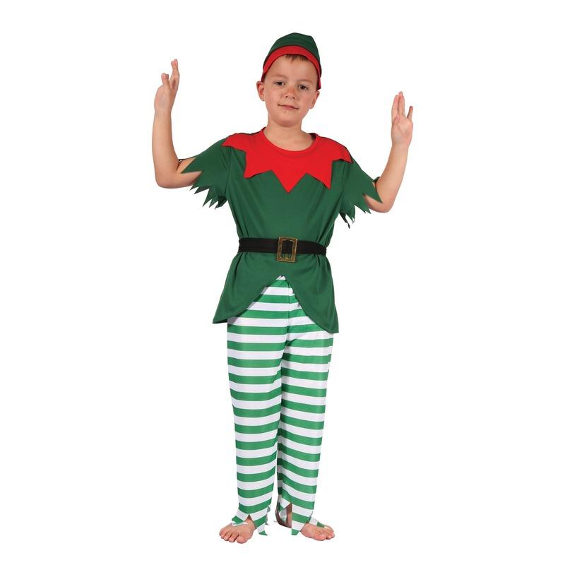 Elfen kostuum met hoedjevoor jongens
