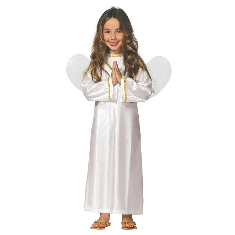 Engel Ariel verkleed kostuum/jurk voor meisjes