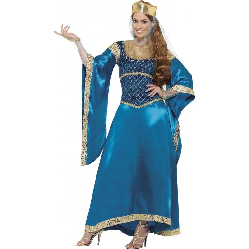 Engelse prinses kostuum