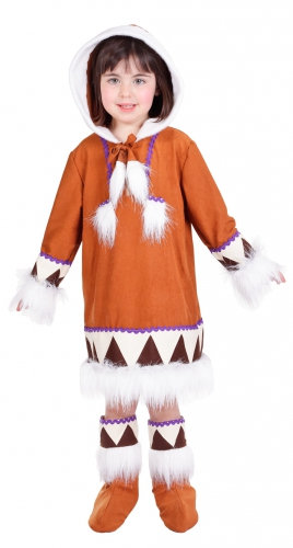 Eskimo kostuum voor meiden