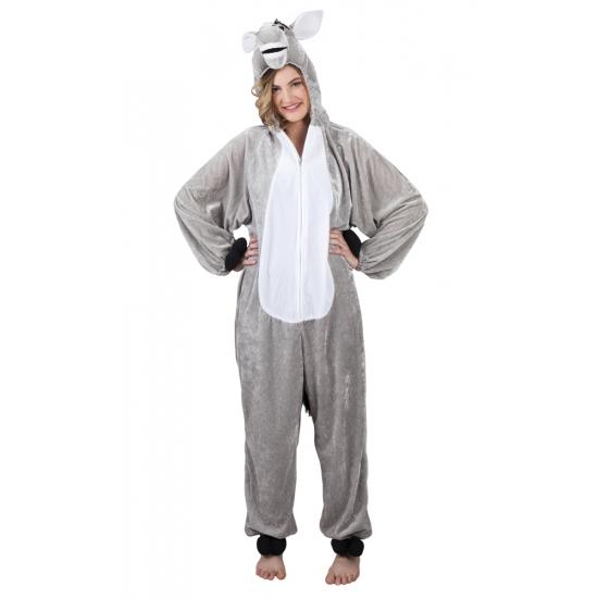 Ezel dieren kostuum voor dames