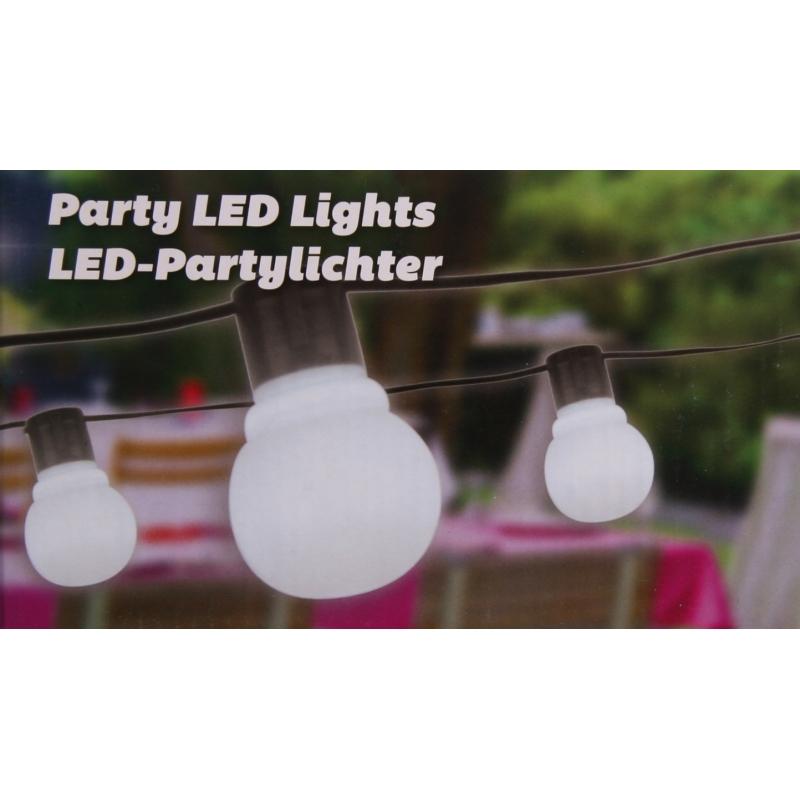 Feestverlichting 20 lampen 11 meter