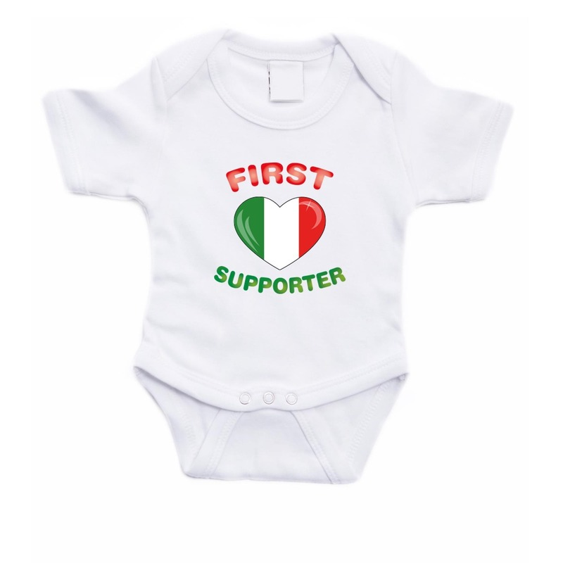 First Italie supporter rompertje baby