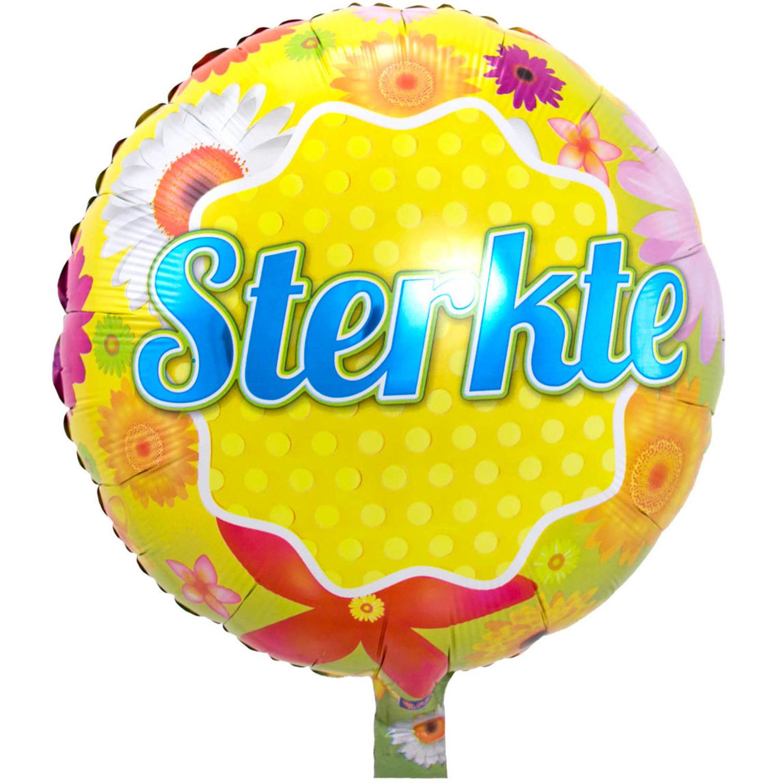 Folie ballon Sterkte 46 cm met helium gevuld