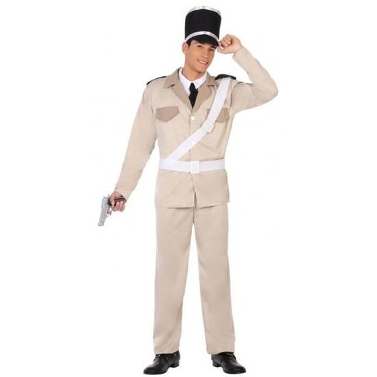 Franse gendarmerie/politie verkleed pak/kostuum voor volwassenen