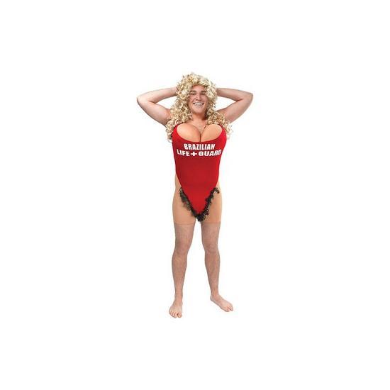 Funny strandwacht kostuum