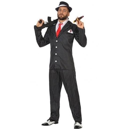 Gangster verkleed kostuum voor heren