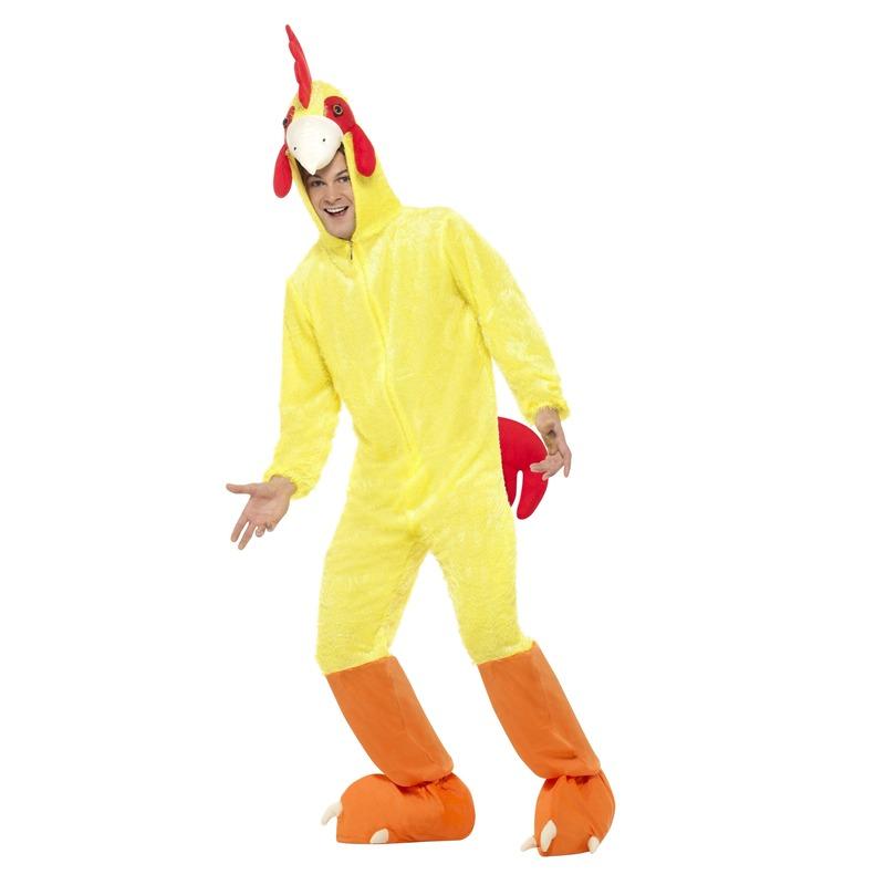 Geel kip/haan kostuum voor volwassenen