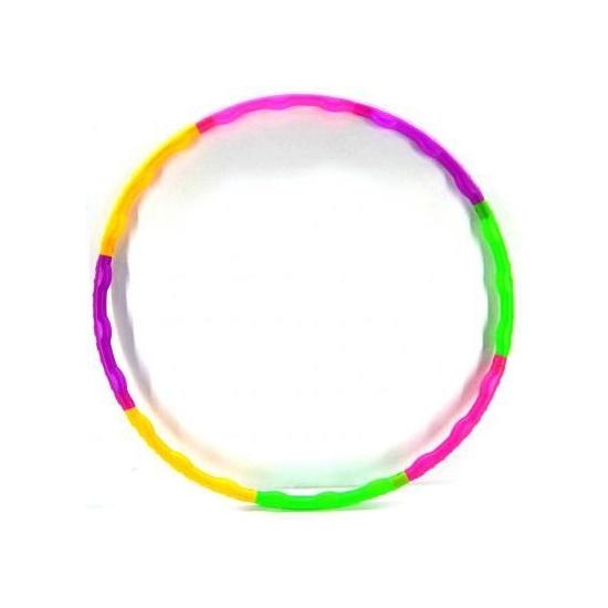 Gekleurde hoela hoep 52 cm