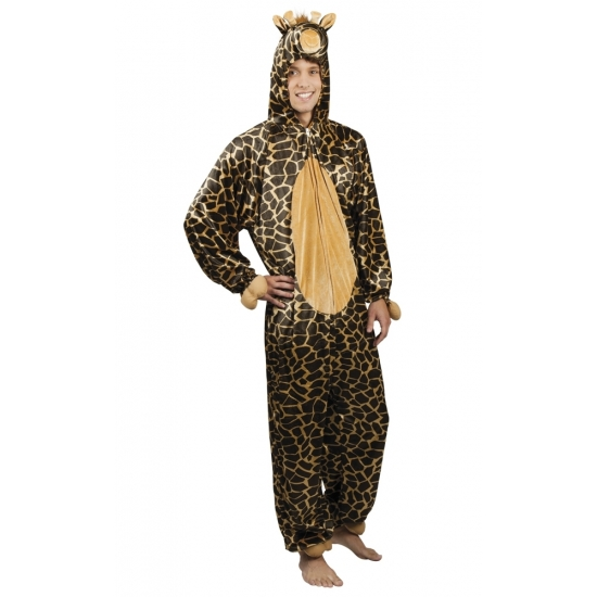 Giraffe dieren kostuum voor heren