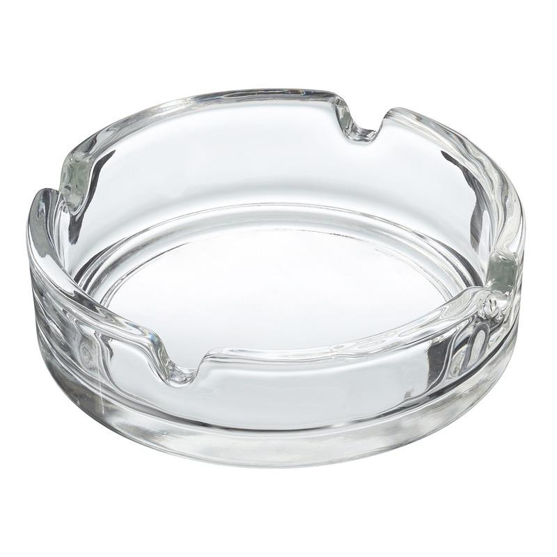 Glazen asbak basic 10 cm
