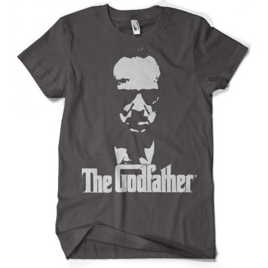 Godfather t-shirt grijs heren