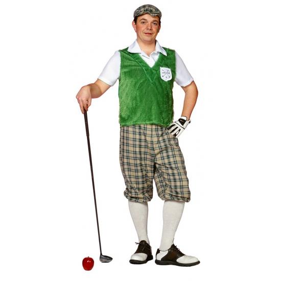 Golf speler kostuum voor heren