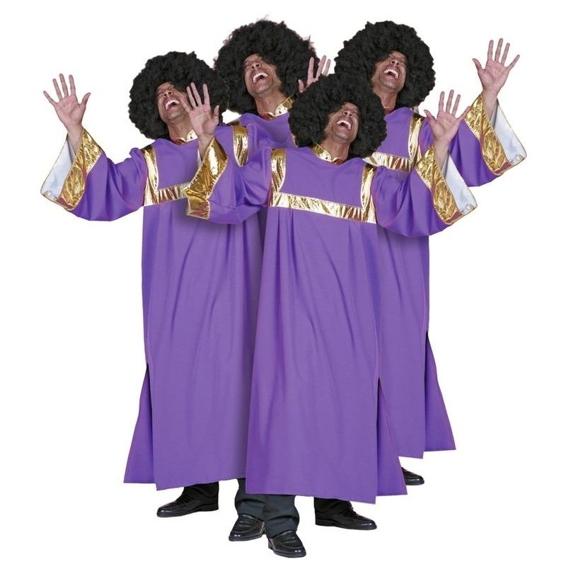 Gospel zanger kostuum heren