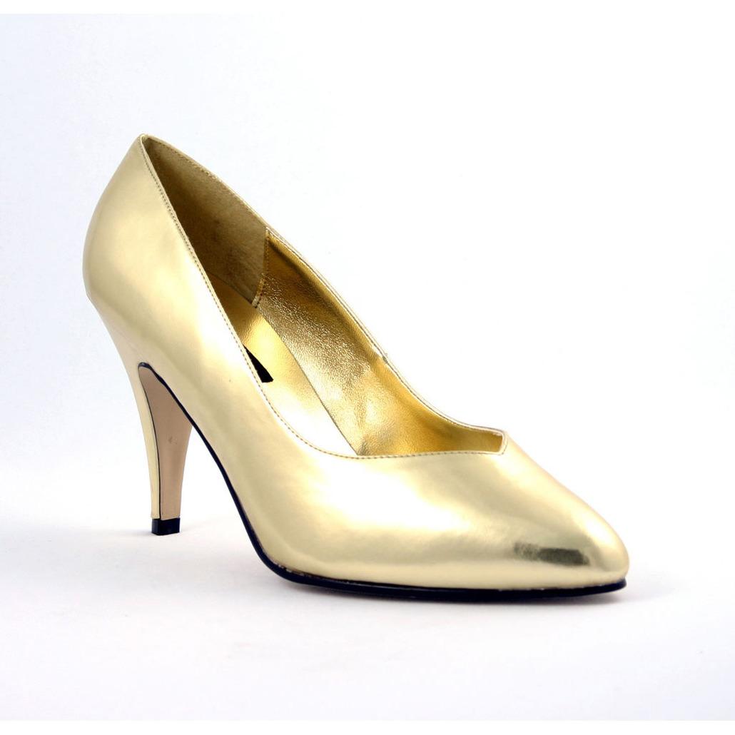 Gouden pumps Sienna