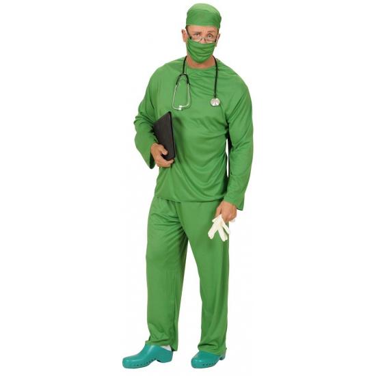 Groen chirurgen verkleed kostuum voor volwassenen