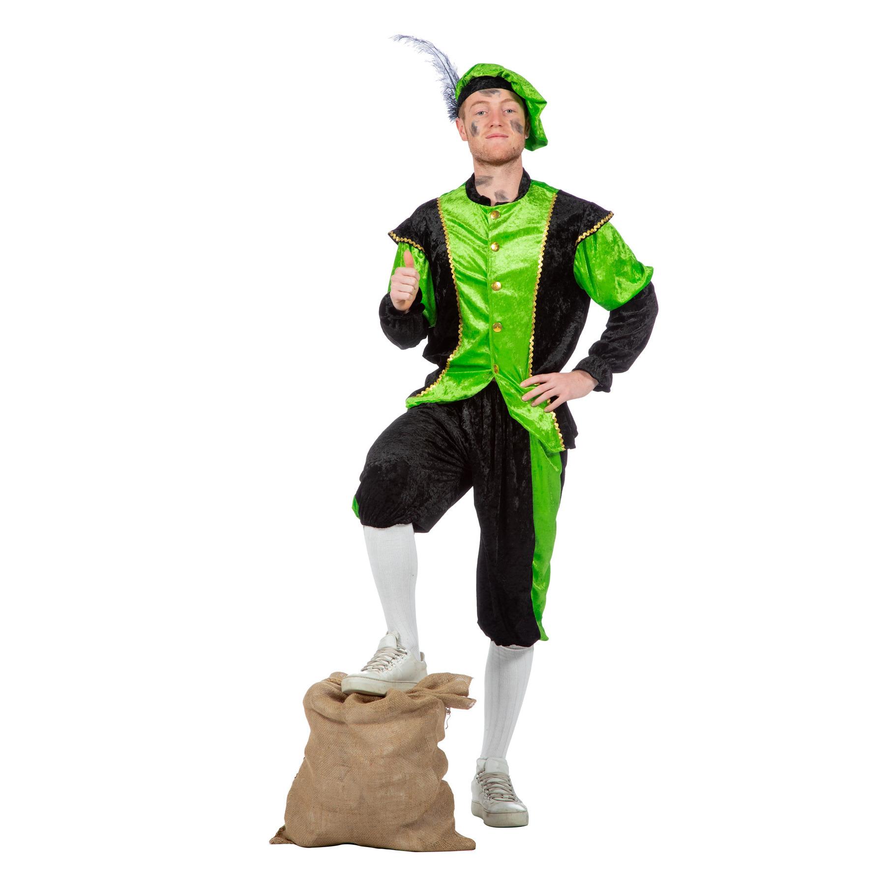 Groen Pieten kostuum budget