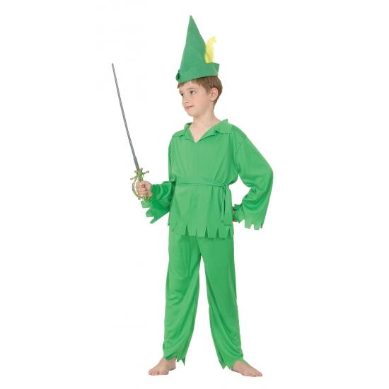 Groen Robin kostuum voor jongens