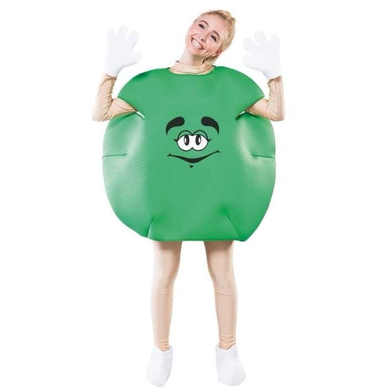 Groen snoep pak voor volwassenen