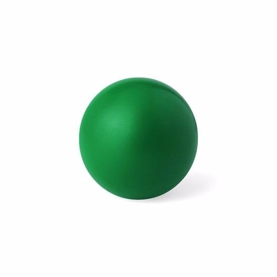 Groene anti stressbal 6 cm
