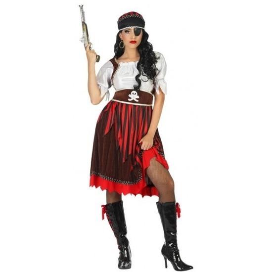 Grote maat Piraat Rachel verkleed pak/kostuum voor dames