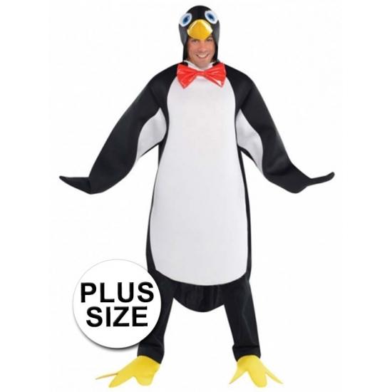 Grote maten pinguin kostuum voor heren