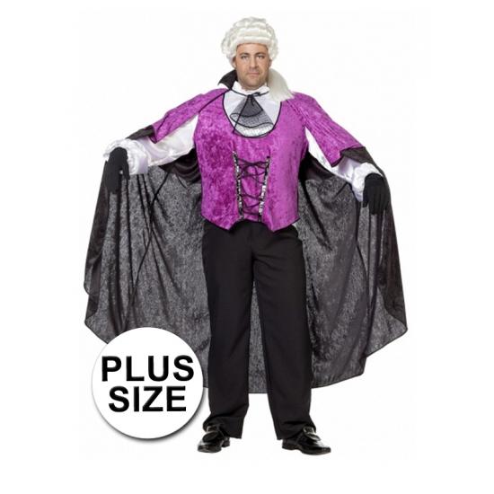 Grote maten vampier kostuum