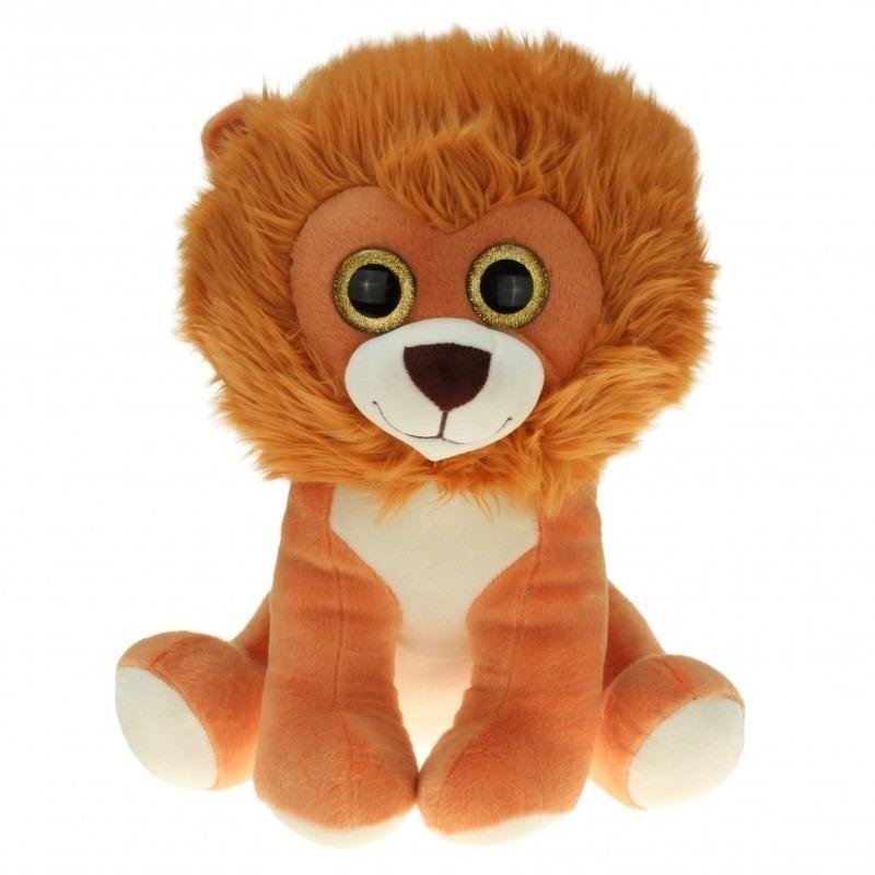d6133ad04a48b9 Grote pluche leeuwen knuffel zittend 90 cm - Leeuwen knuffels > 50 ...