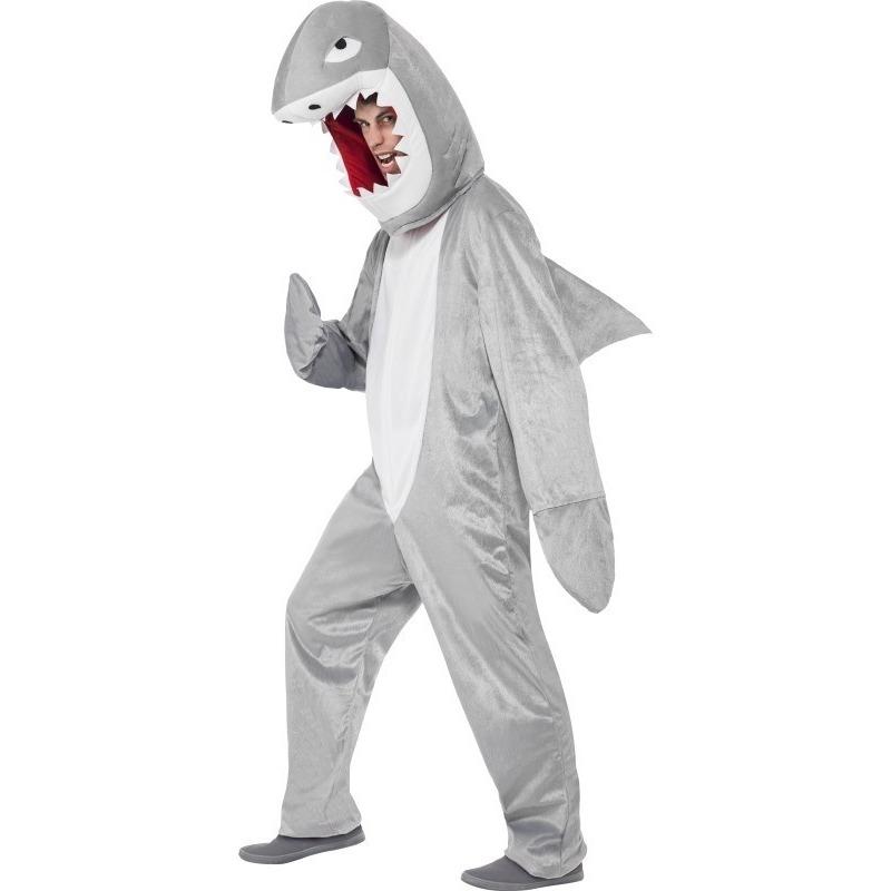 Haaien kostuum/pak voor volwassenen