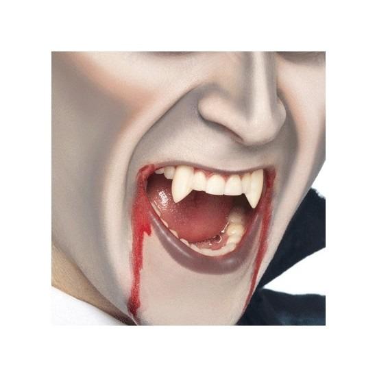 Halloween - 2 stuks vampieren halloween nep tandjes