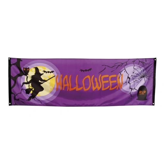 Halloween - Banner Halloween versiering 220 cm