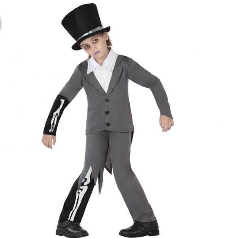 Halloween bruidegom kostuum voor kinderen