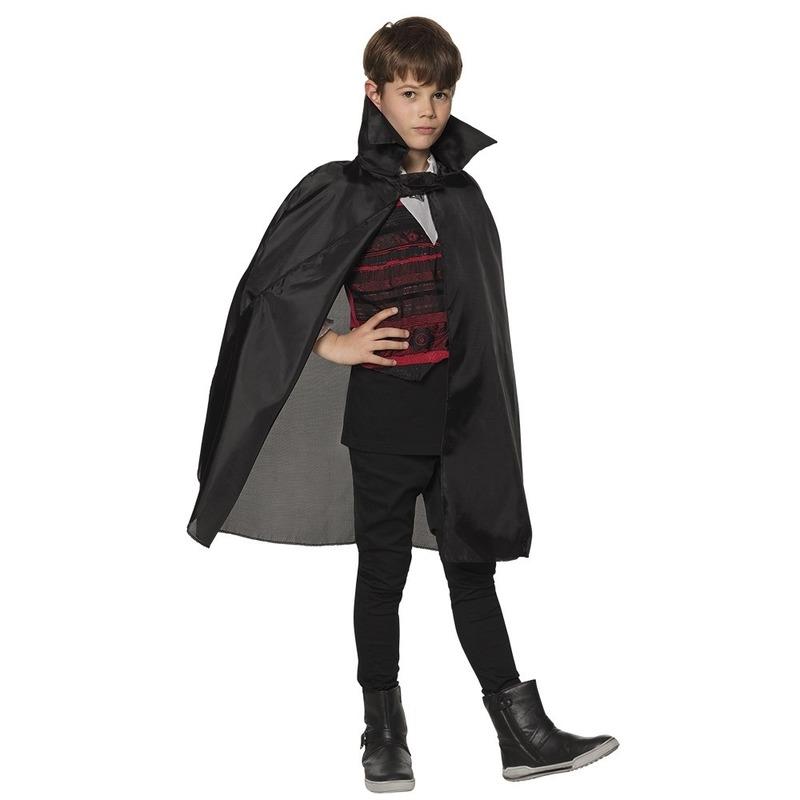 Halloween dracula cape voor kinderen
