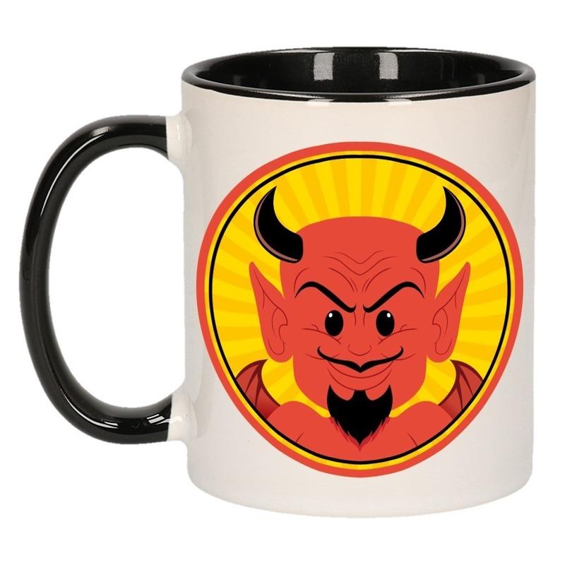 Halloween duivel mok - beker 300 ml