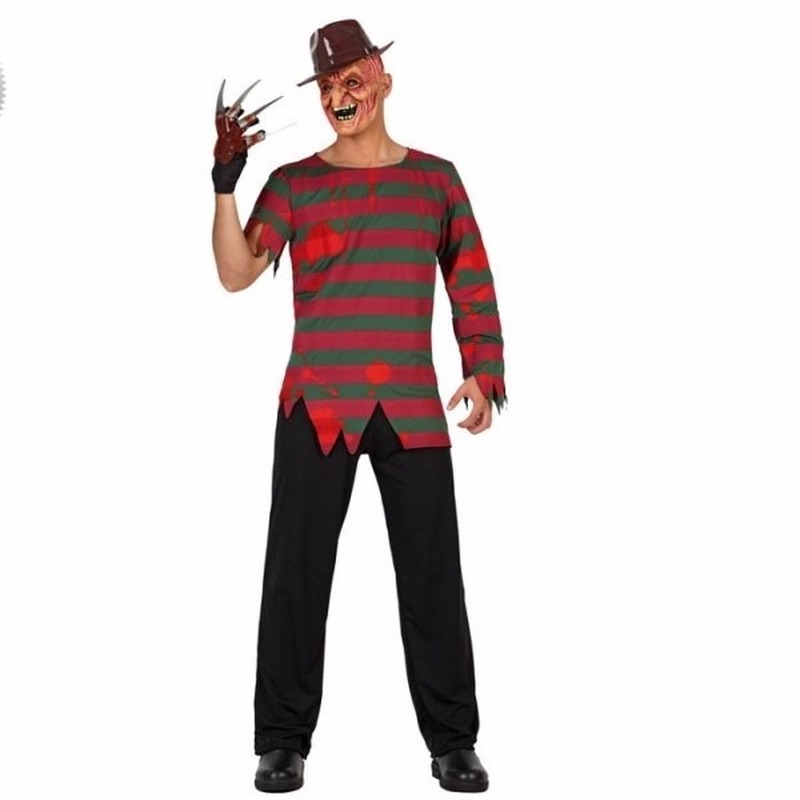 Halloween Freddy kostuum voor volwassenen