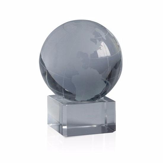 Halloween - Glazen waarzegsters wereldbol 6 cm