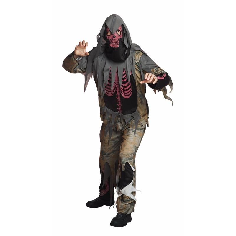 Halloween griezelig kerker bewaker kostuum heren