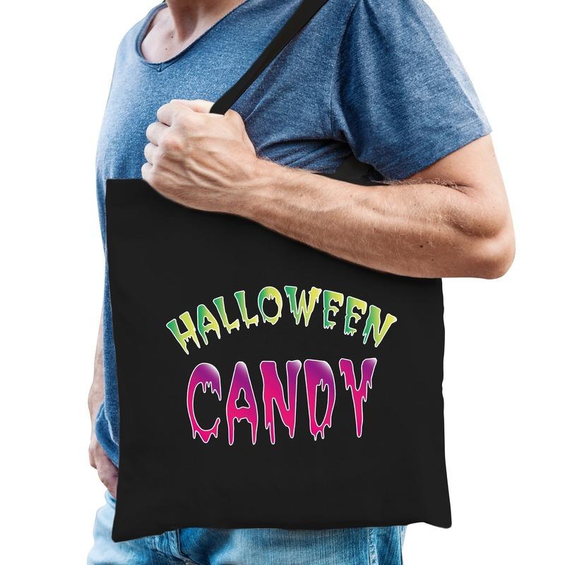 Halloween - Halloween candy snoep cadeau tas zwart voor heren