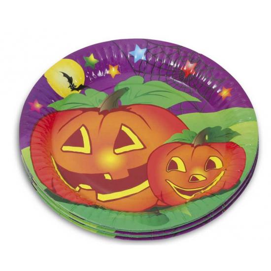 Halloween - Halloween feestbordjes 10 stuks