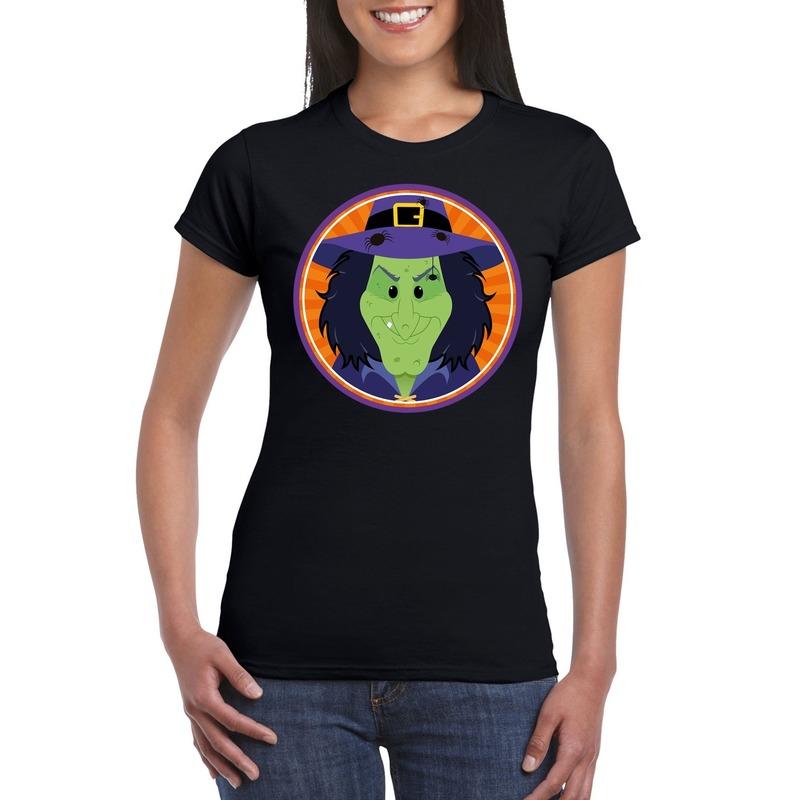 Halloween - Halloween heks t-shirt zwart dames