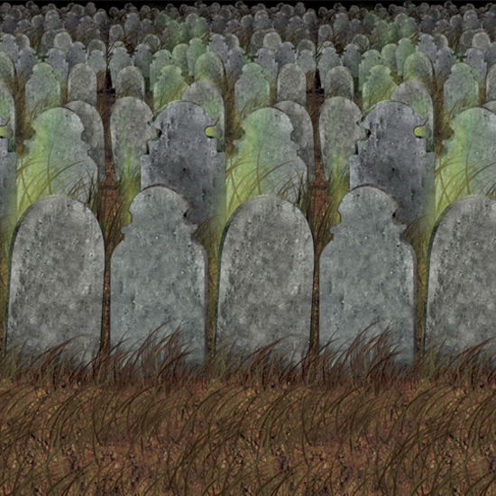Halloween - Halloween scenesetter begraafplaats