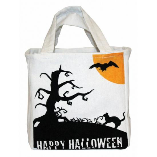 Halloween - Halloween snoep tas van canvas