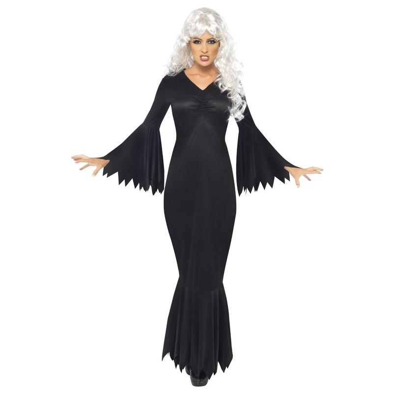 Halloween - Halloween Vampieren jurk zwart voor dames