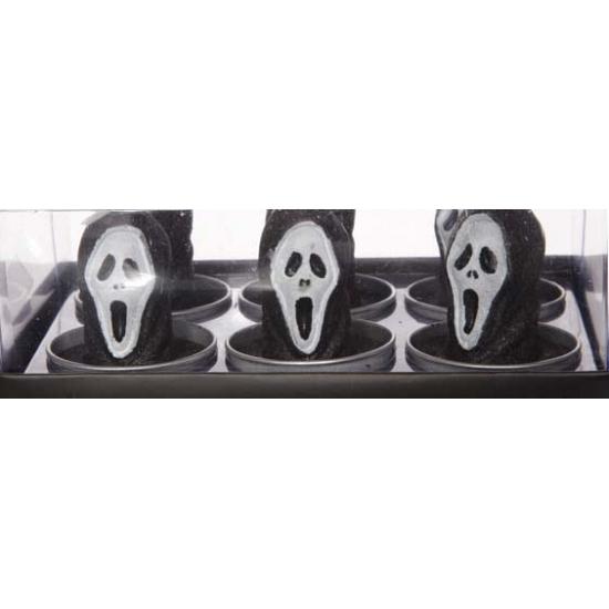 Halloween - Halloween waxinelichtjes Scream