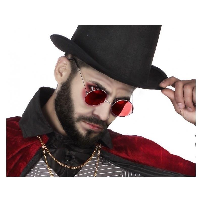 Halloween - Horror rode Dracula verkleed bril voor volwassenen