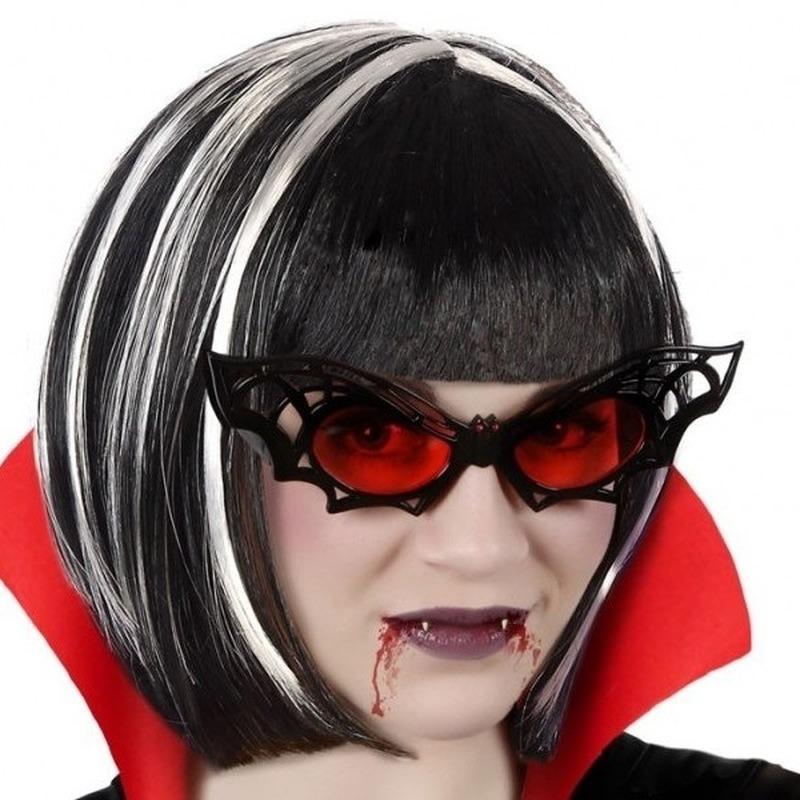 Halloween - Horror vleermuis verkleed bril voor volwassenen