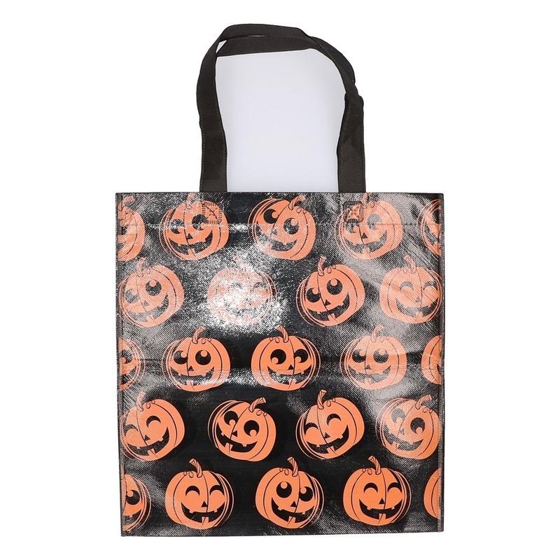Halloween tas voor snoep zwart